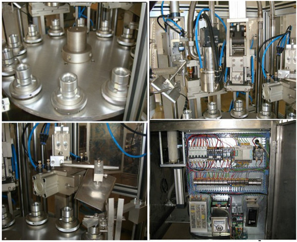 Details of the Automatic tube filling sealing machine1