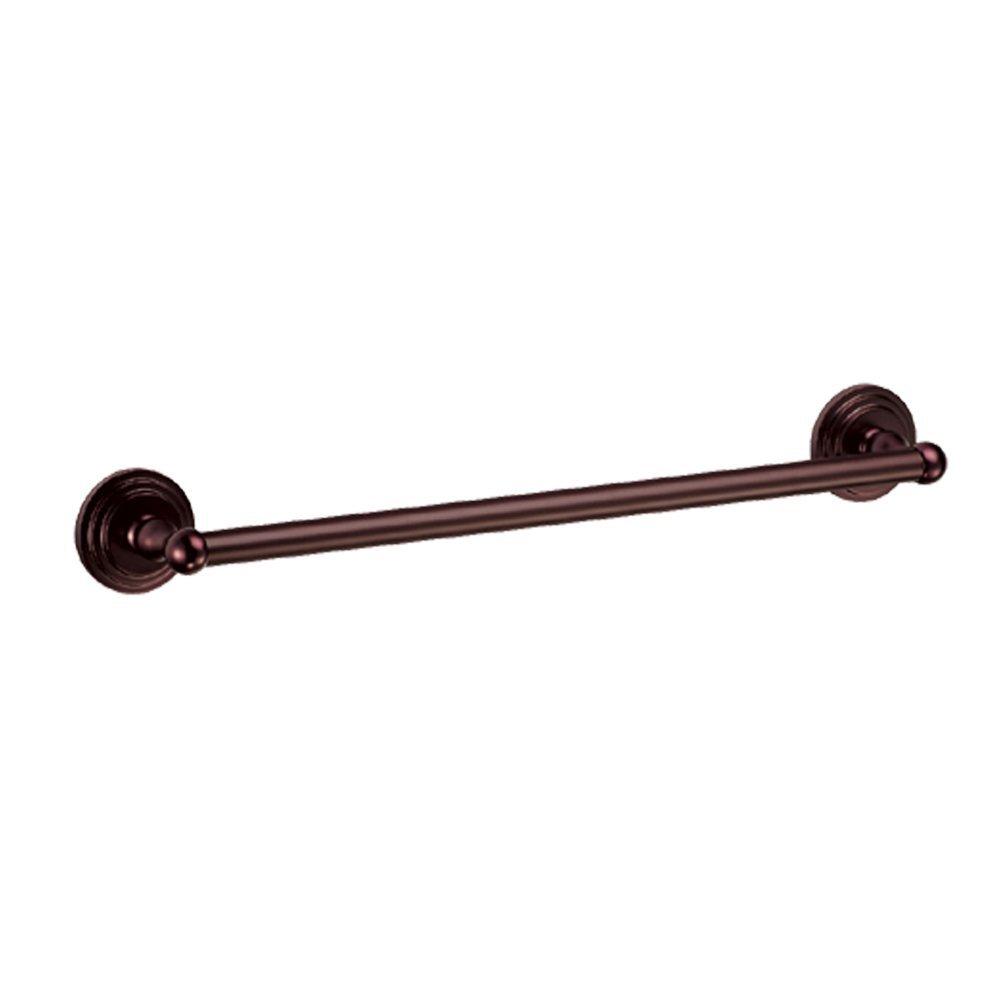 Gatco 5832 Marina 3/4-Inch Diameter Towel Bar, 18-Inch, Bronze