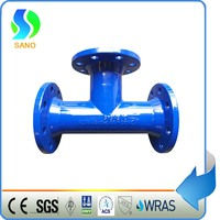 All Flanged Tee Ductile Iron Pipe Fitting