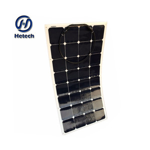 solar cold room solar panel 100 watt flexable 12v dc solar fan