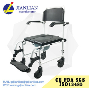 JL6927 Manual tilt commode wheelchair