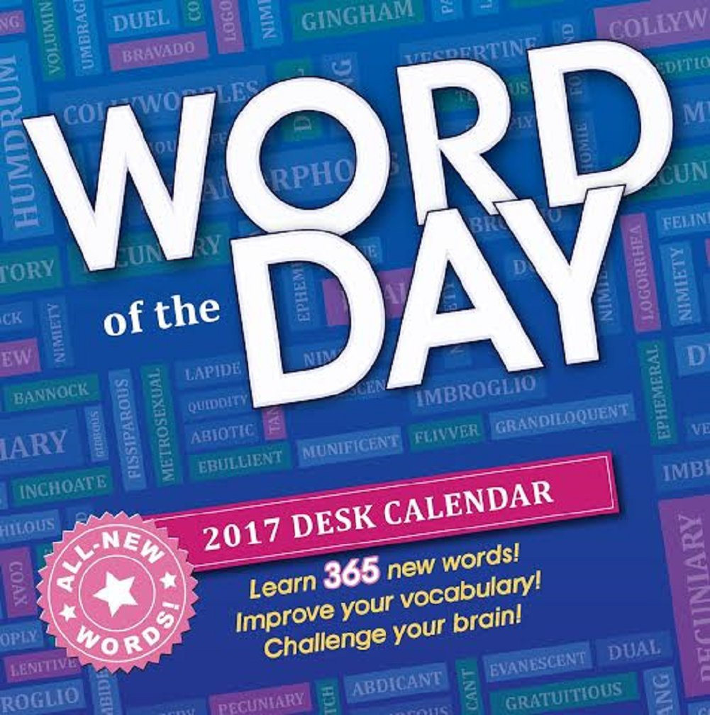 Get Quotations · 2017 Desk Calendar (Word of the Day)