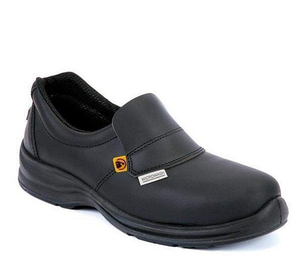 61162e5bef251 Get Quotations · Giasco Medina S2 Leather Work Safety Shoe Anti-Slip Oil  Resistant Sole