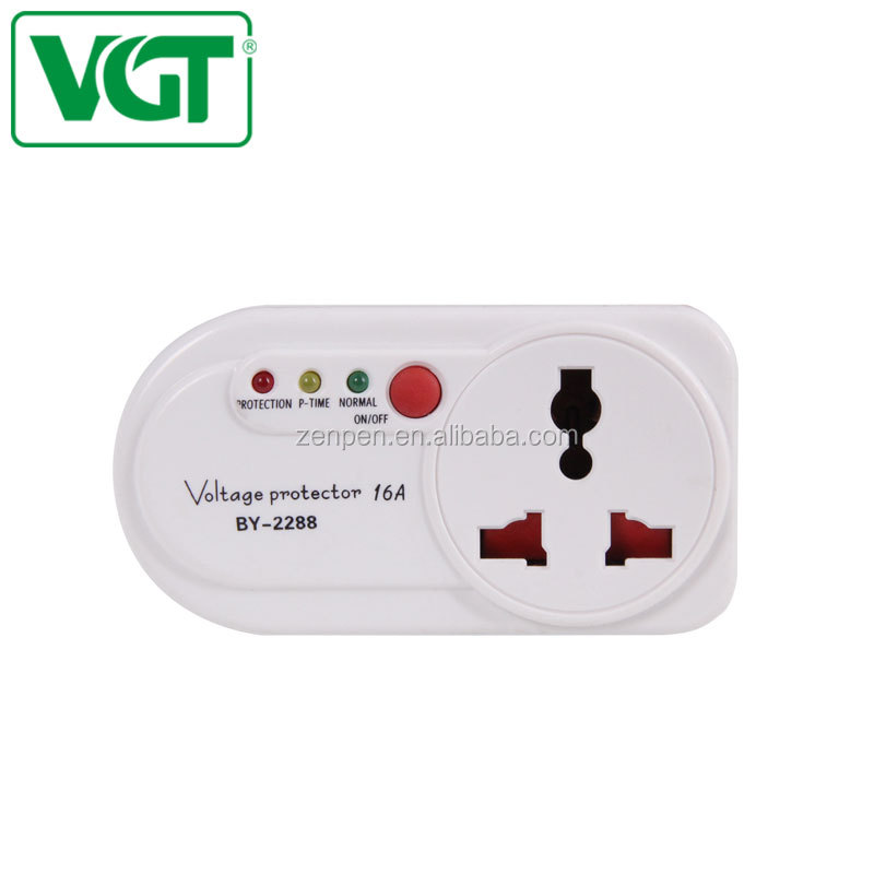 Various styles 230V AC voltage stabilizer series of under-voltage protection 16A EU socket