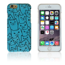 Glossy surface lovely bella cat wholesale phone accessory for iphone