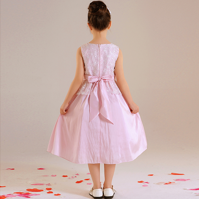 D3984 Communion Party Prom Princess Pageant Bridesmaid Wedding Flower Girl Dress
