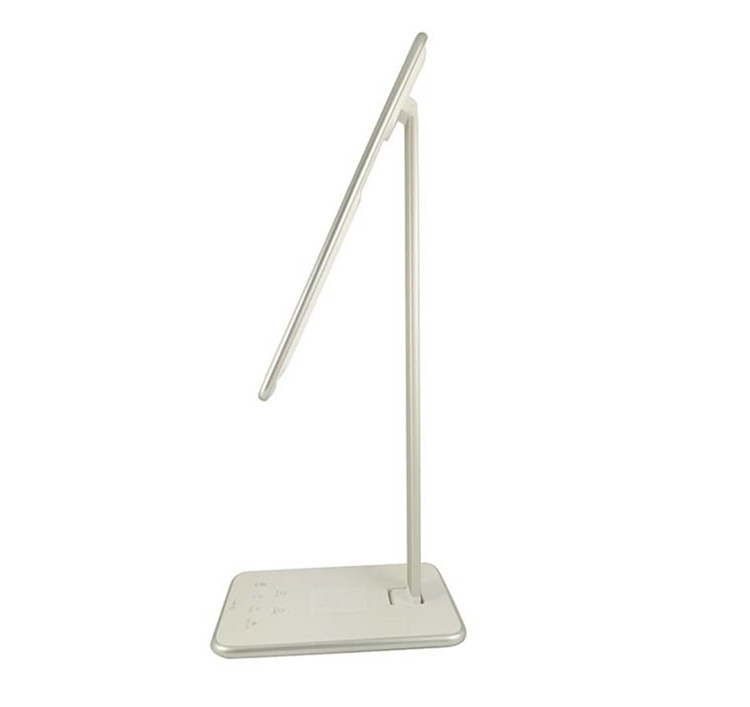 2017 new style led desk lamp with qi wireless charger Chinese Manufacturer