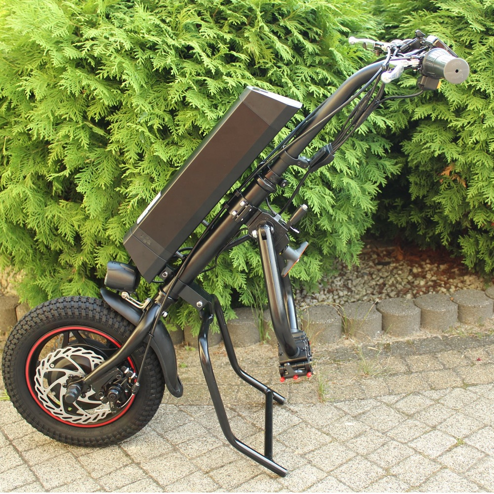 cnebikes 12'' attached wheelchair lift electric handbike wheelchair for handicapped