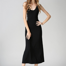 8d655518304a6 Buy black jersey dress and get free shipping on AliExpress.com