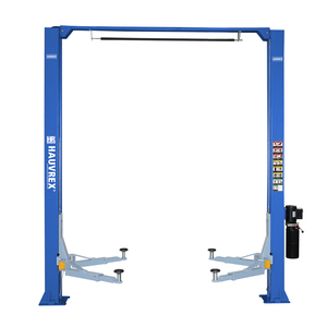 HTL3040 dual side manual lock release outdoor car lift with clear floor