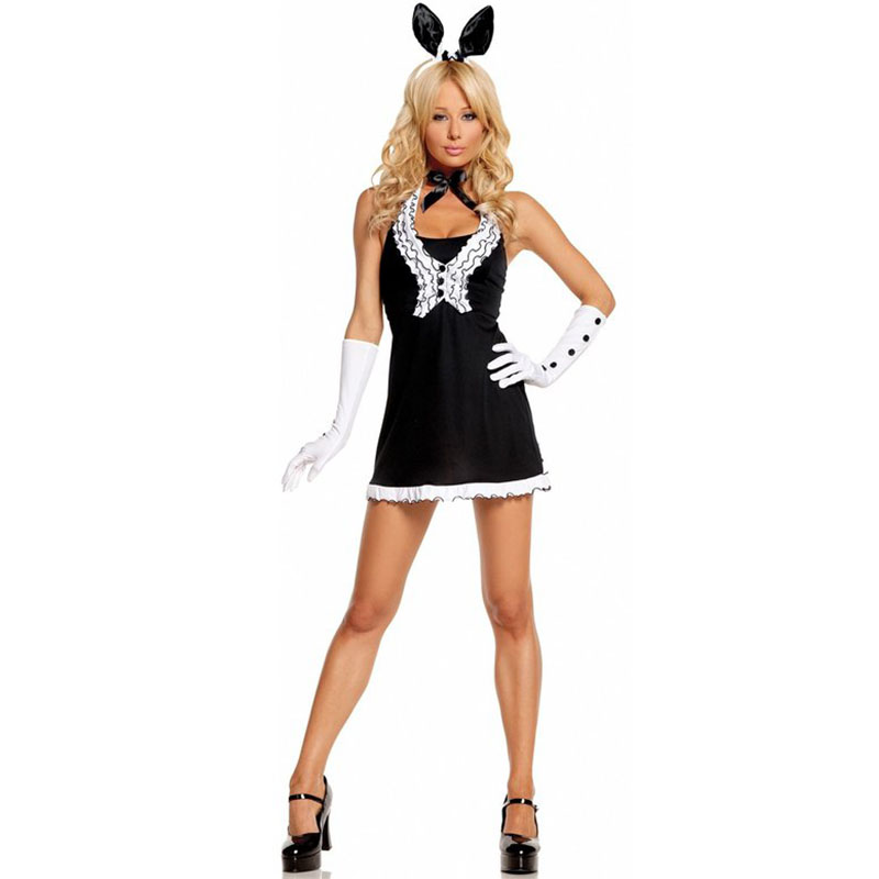 Fashion Sexy Easter Bunny Girl Cosplay Costume For Women Ladies