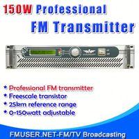 FMUSER FSN-150 150W Radio Station Software 0-150w Adjustable For FM Radio Station-RC6