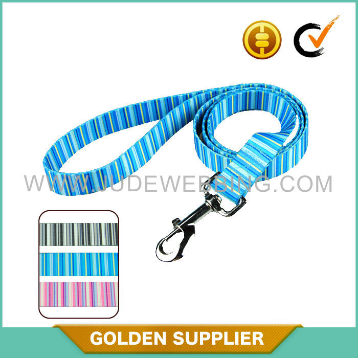personalized quick release padded nylon lead