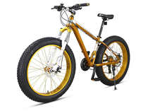 26*4.0 inch fat tire 27 speed mountain bicycle for adults
