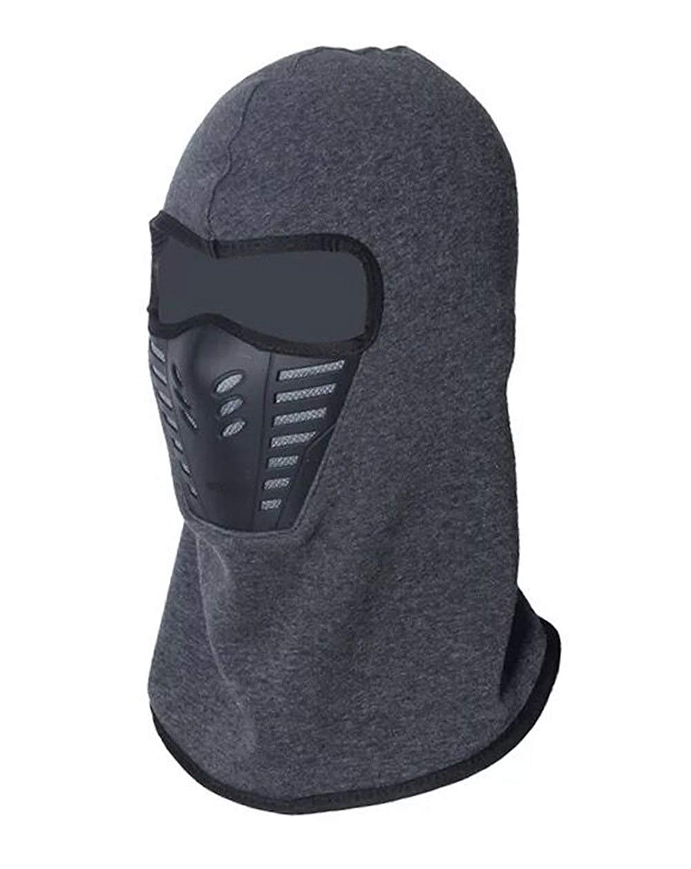 Lanzom Unisex Outdoor Sports Balaclava Face Mask Winter Fleece Windproof Ski Mask for Men and Women
