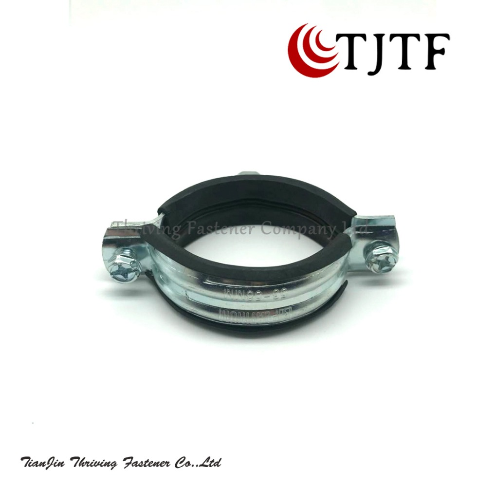 Favourable Price China Promotion rubber pipe u type rubber hose clamp