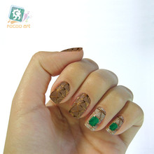 The new second generation water make up shift trend of Korean dream Golden Jewel Manicure nail