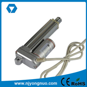 12v electric actuator mini linear actuator surplus with wireless remote  control