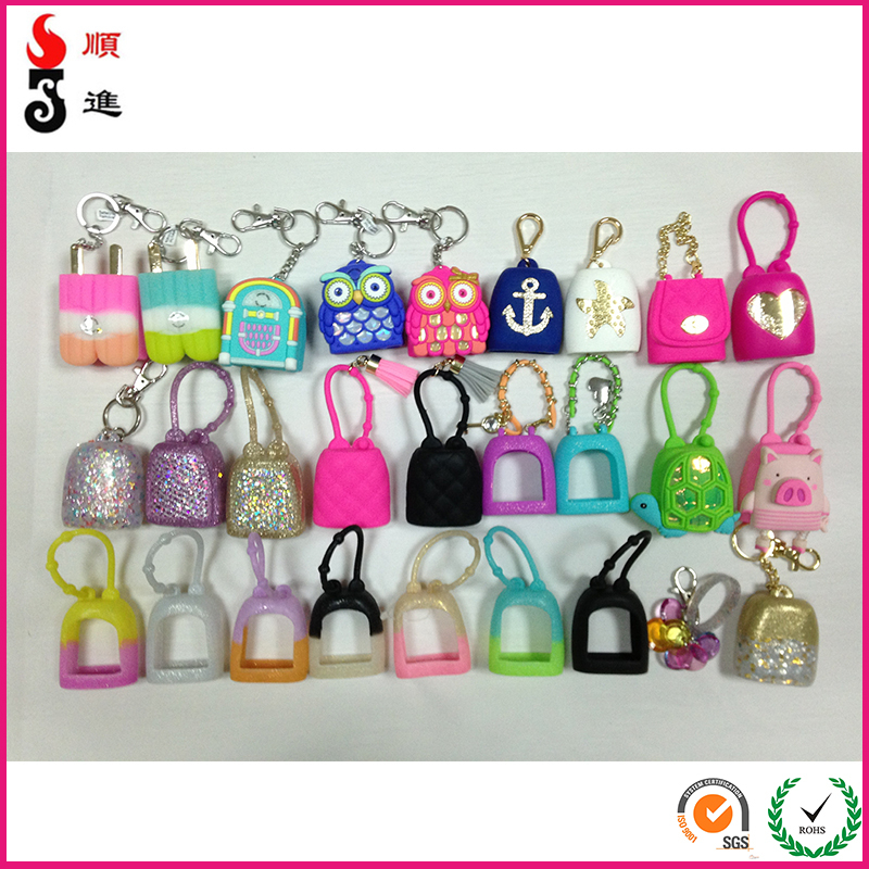 Bulk Alcohol Gel Instant Hand Sanitizer With Silicone Holders