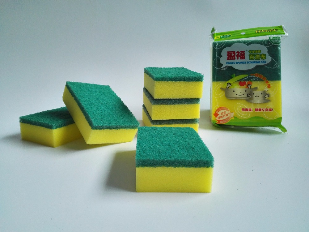 Household Cellulose Sponge Wipe Pad