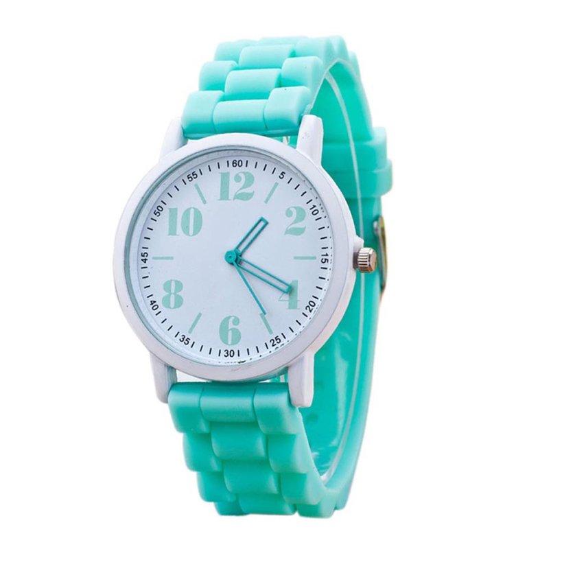 Amazing Fashion Quartz Watch Silicone Watches Women Wristwatch 2015 New Free Shipping