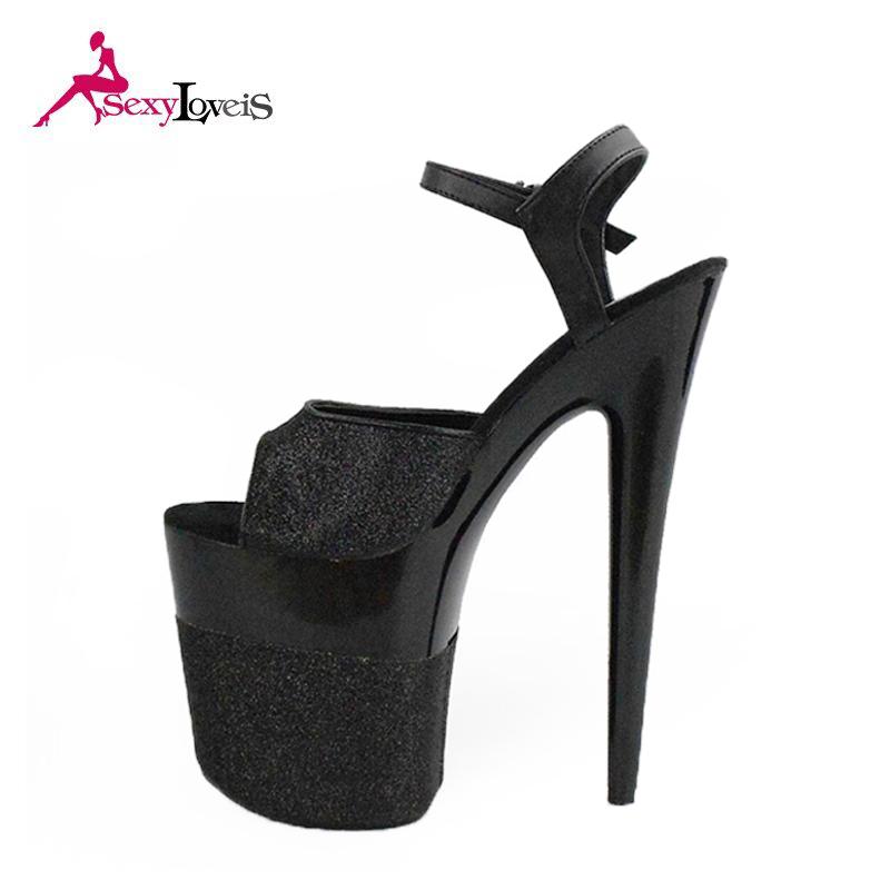 3d002e9703 New model sexy very high heel platform sandals for women with 19cm high heel