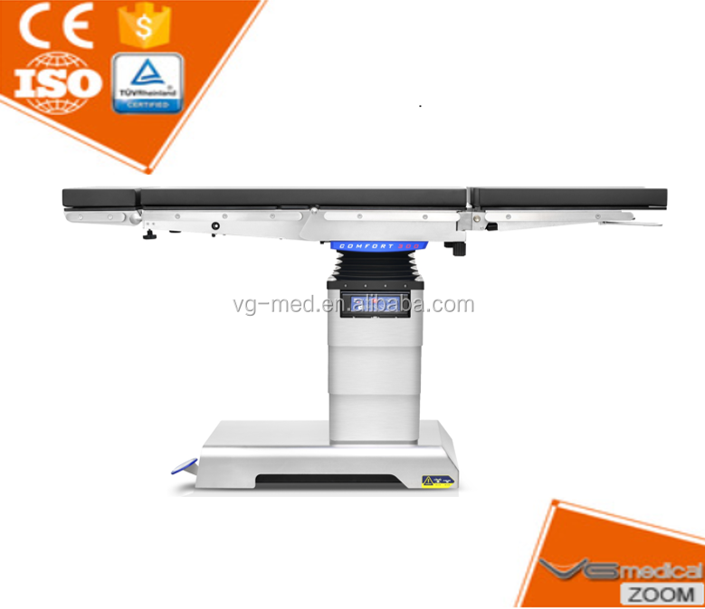 C Arm compitable electronic hydraulic surgical operating table