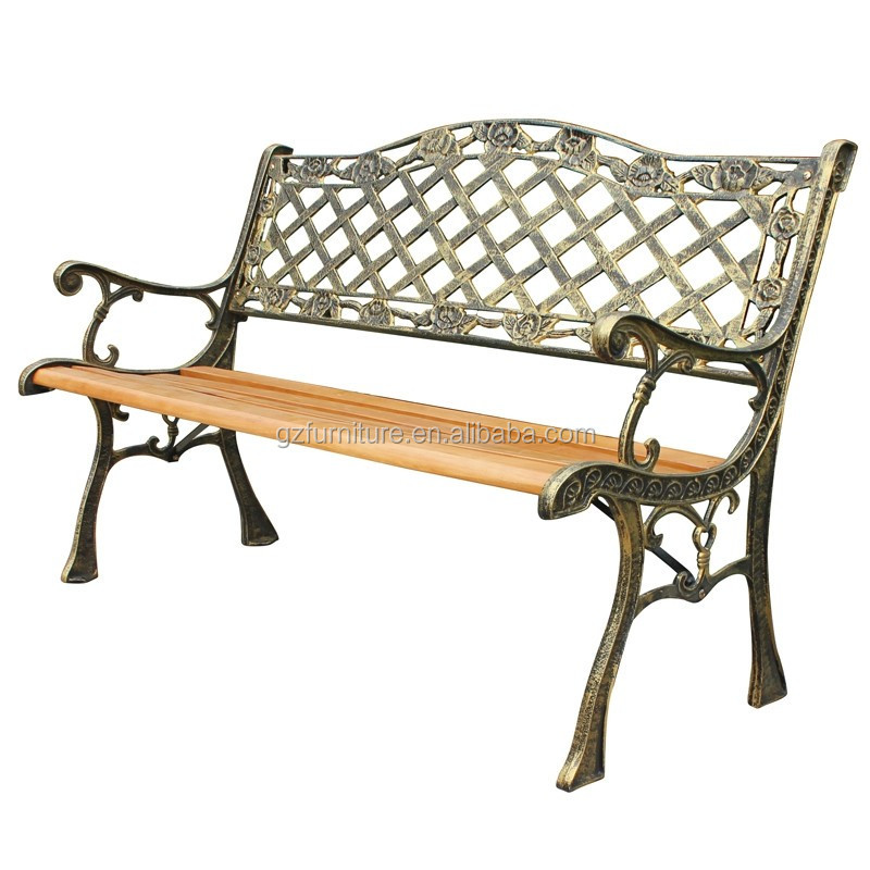Park Bench Slats Antique Decorative Outdoor Benches Curved Outdoor