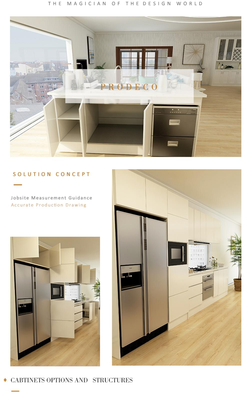 2019 Commercial Restaurant Double Sided Kitchen Cabinets ...