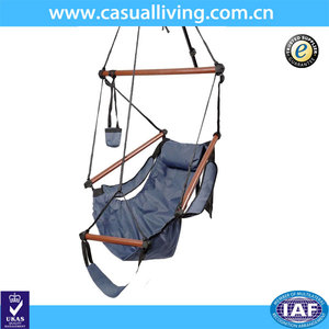 Round Chair Hammock Hanging Chair Solid Wood