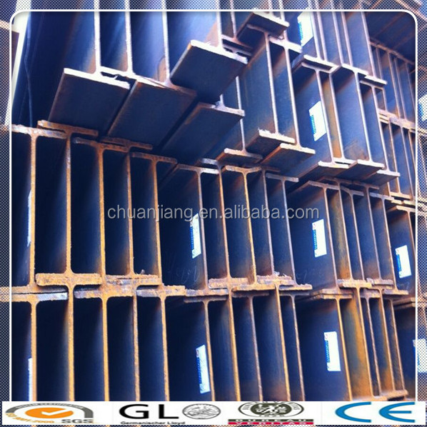 used steel beams sale ST37 Hot Rolled Structural Steel H Beam 400 * 200 * 8 * 13 mm