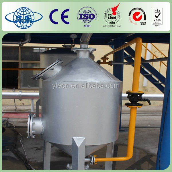 Used Tyre Oil Refining Equipment 5 tons per day