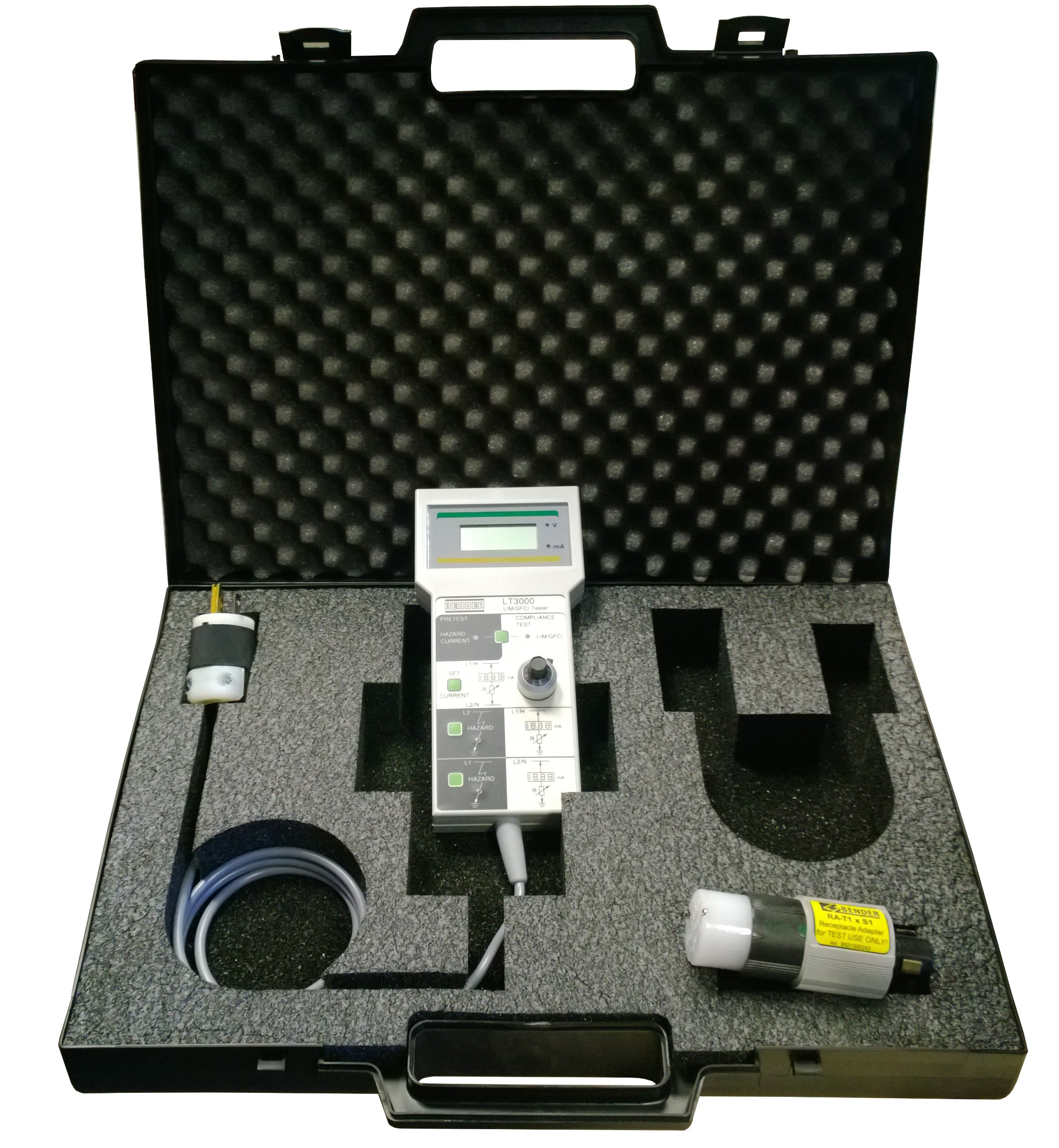 Buy Bender Lt 3000 Kit For Line Isolation Monitor Lim And Ground How To Test Fault Circuit Interrupter Gfci