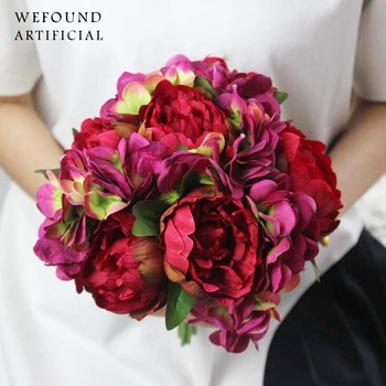 Wholesale artificial flower bouquet wedding bride holding bouquet wholesale artificial flower bouquet wedding bride holding bouquet mightylinksfo