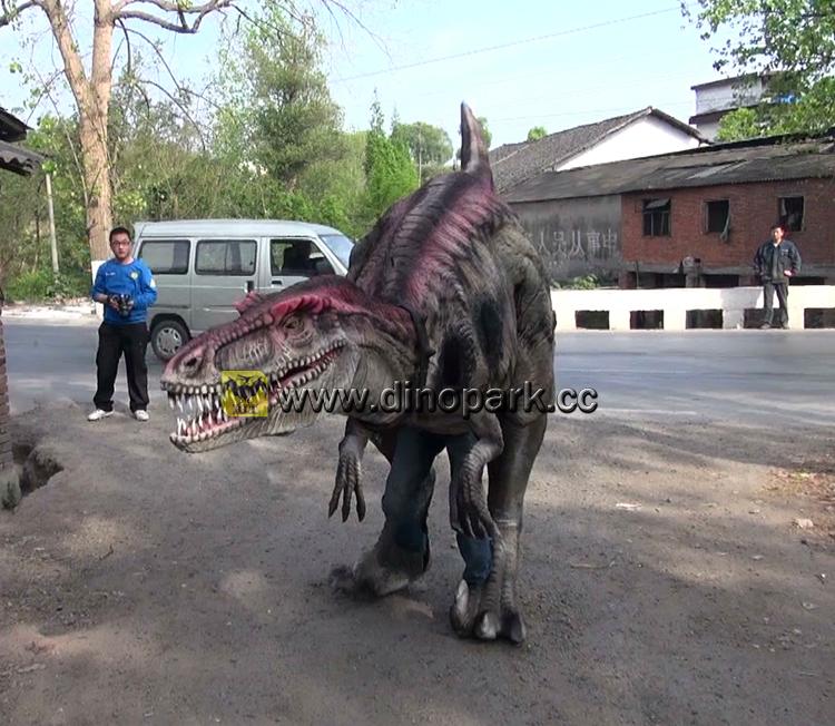 Hlt Velociraptor Dinosaur Costume Youtube Dinosaurs