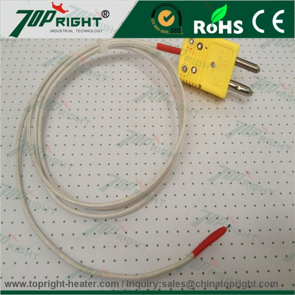 TOPRIGHT k type terre thermocouple standard omega prise