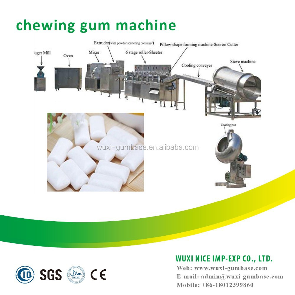 Worth to afford coating chewing gum making machine