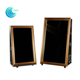 Rental shopping mall 3d wooden frames photo portable mirror photo booth