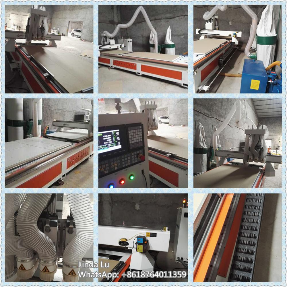 multi spindle cnc router machine woodworking