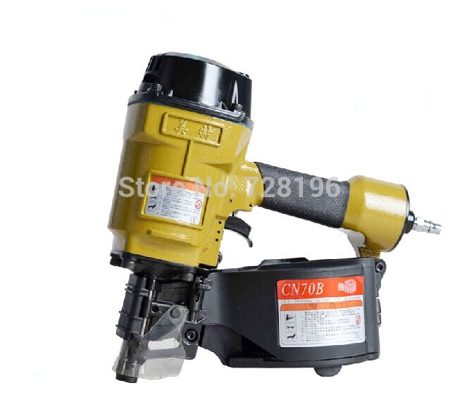 High Quality CN70B  Industrial Pneumatic Coil Nailer Air Nail Gun Tool Nailing Machine MADE IN TAIWAN