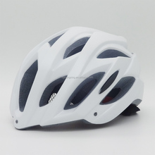Milk white color bicycle half face helmet brainsaver for cleanness cyclist