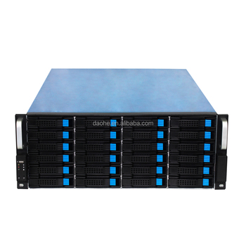 4U 24bay Server Case Rackmount Case for IPFS Miner