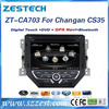 Zestech double din car stereo for changan cs35 gps bluetooth mp3 mp4