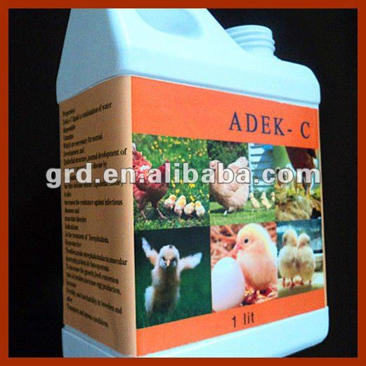DEKA-C oral liquid and multivitamin for poultry