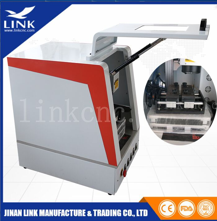 LINK Manufactory 20W/30W/50W Fiber Laser engraving Marking Machine for Metal&Plastic ABS PP
