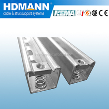 Good quality hot dipped galvanized unistrut channel c shaped channel CE UL cUL SGS NEMA IEC Certificate