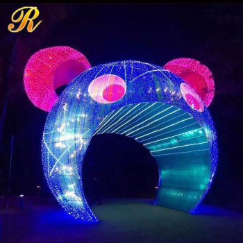 large light up christmas ornament for outdoor decoration