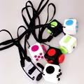 Wholesale 11PCS Lot 2 2cm Mini Fidget Cube Puzzles Magic Cubes With Rope Gift Relieves Stress