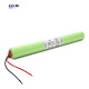 IEC standard SC 2500mah 6v rechargeable battery pack for emergency battery
