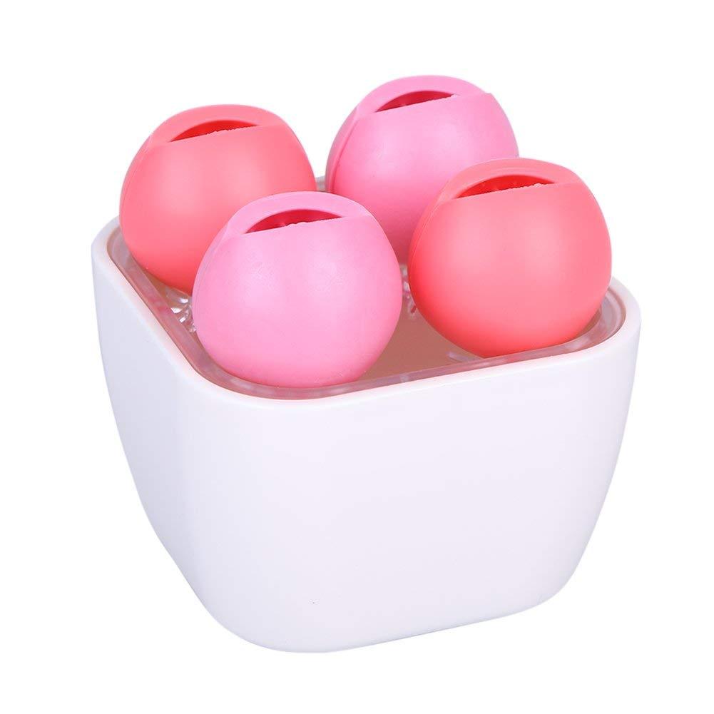 YesluckY Multifunctional Silicone Desktop Organizer Makeup Storage Box Cosmetics jewelry box office supplies desktop storage box(Pink)
